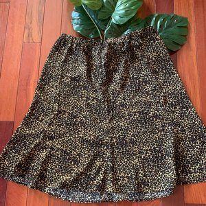 Joanna Animal Print Skirt